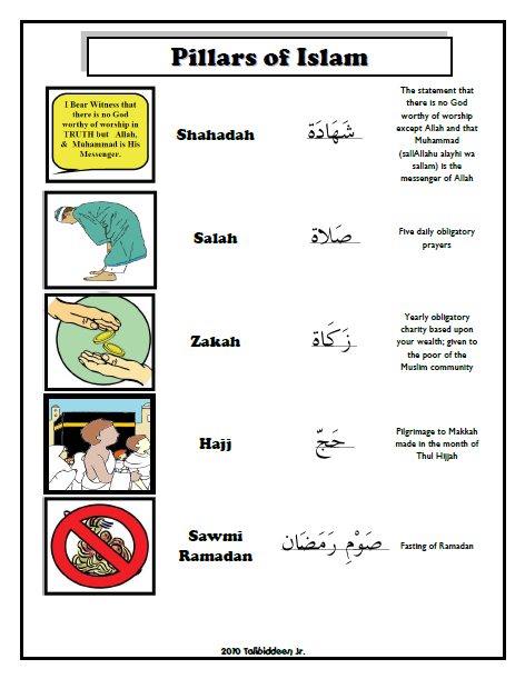 how to pray in islam in arabic pdf